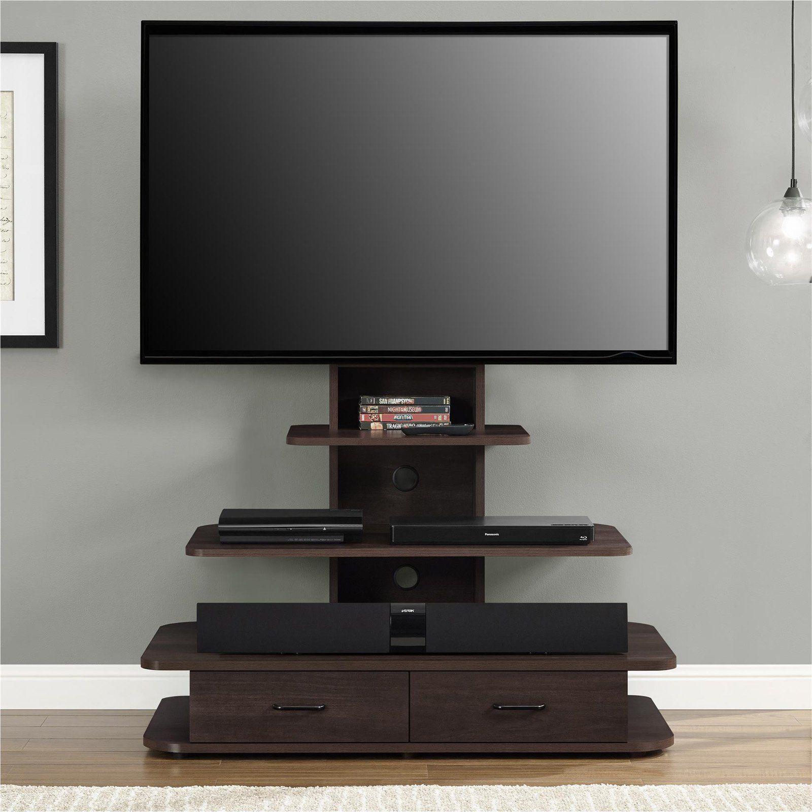 altra furniture galaxy 70 in tv stand dark walnut 1762196pcom
