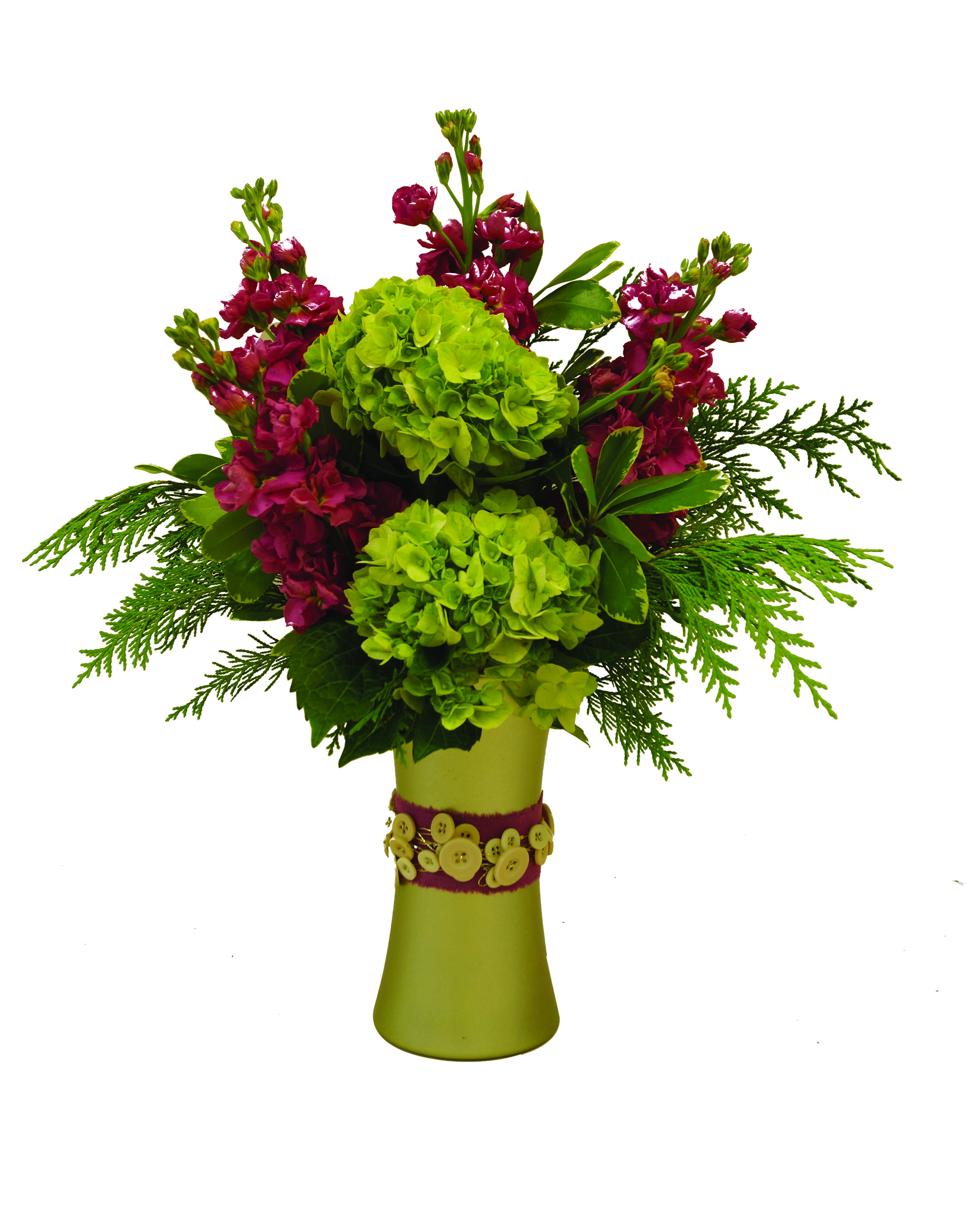 Create this beautiful floral arrangement while designing in an OASIS ...
