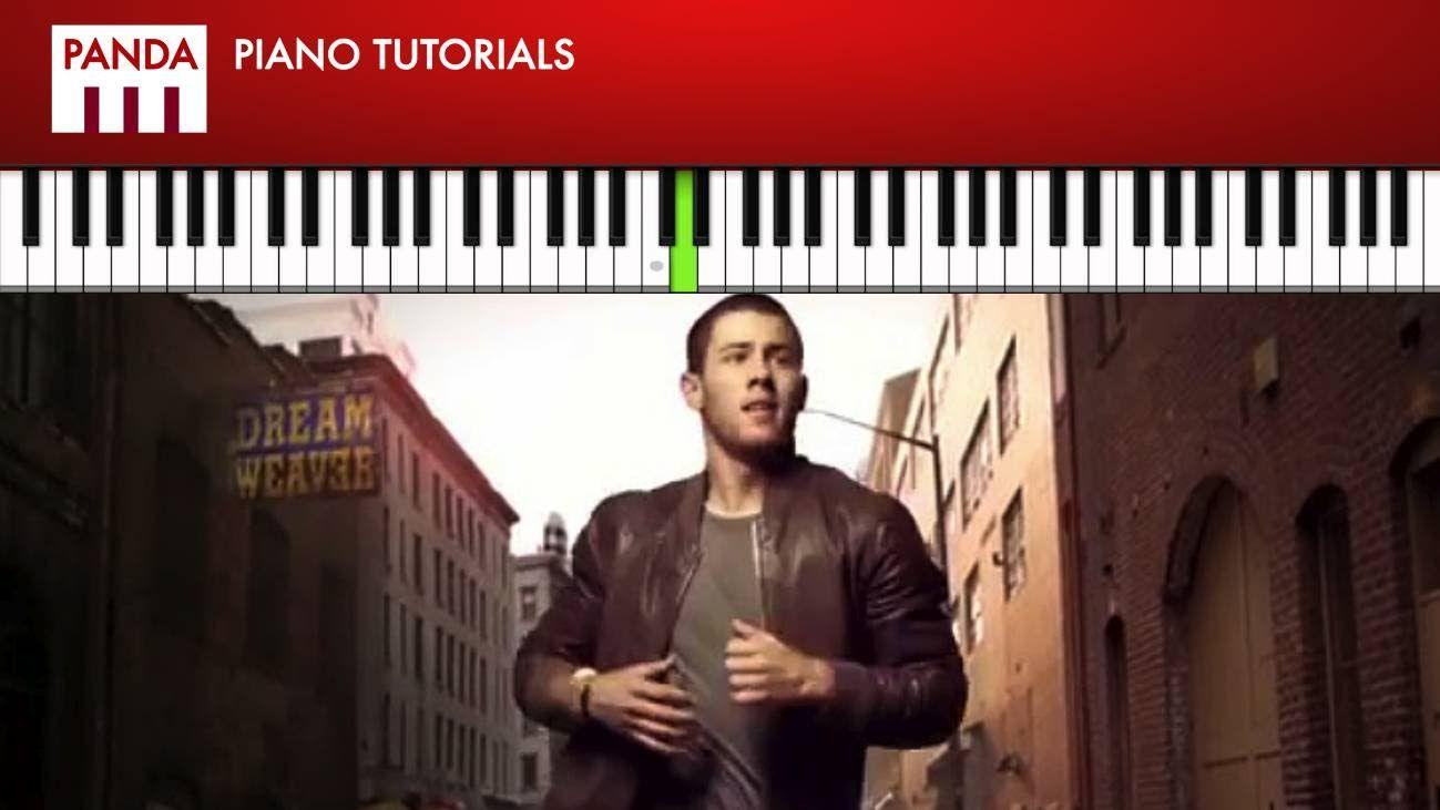 Nick jonas jealous how to play piano tutorial chords melody nick jonas jealous how to play piano tutorial chords melody hexwebz Images