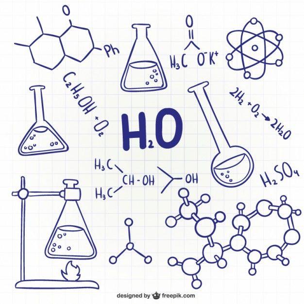Science Scribbles Doodles Ciencia Rabiscos E Ideias Para Cadernos