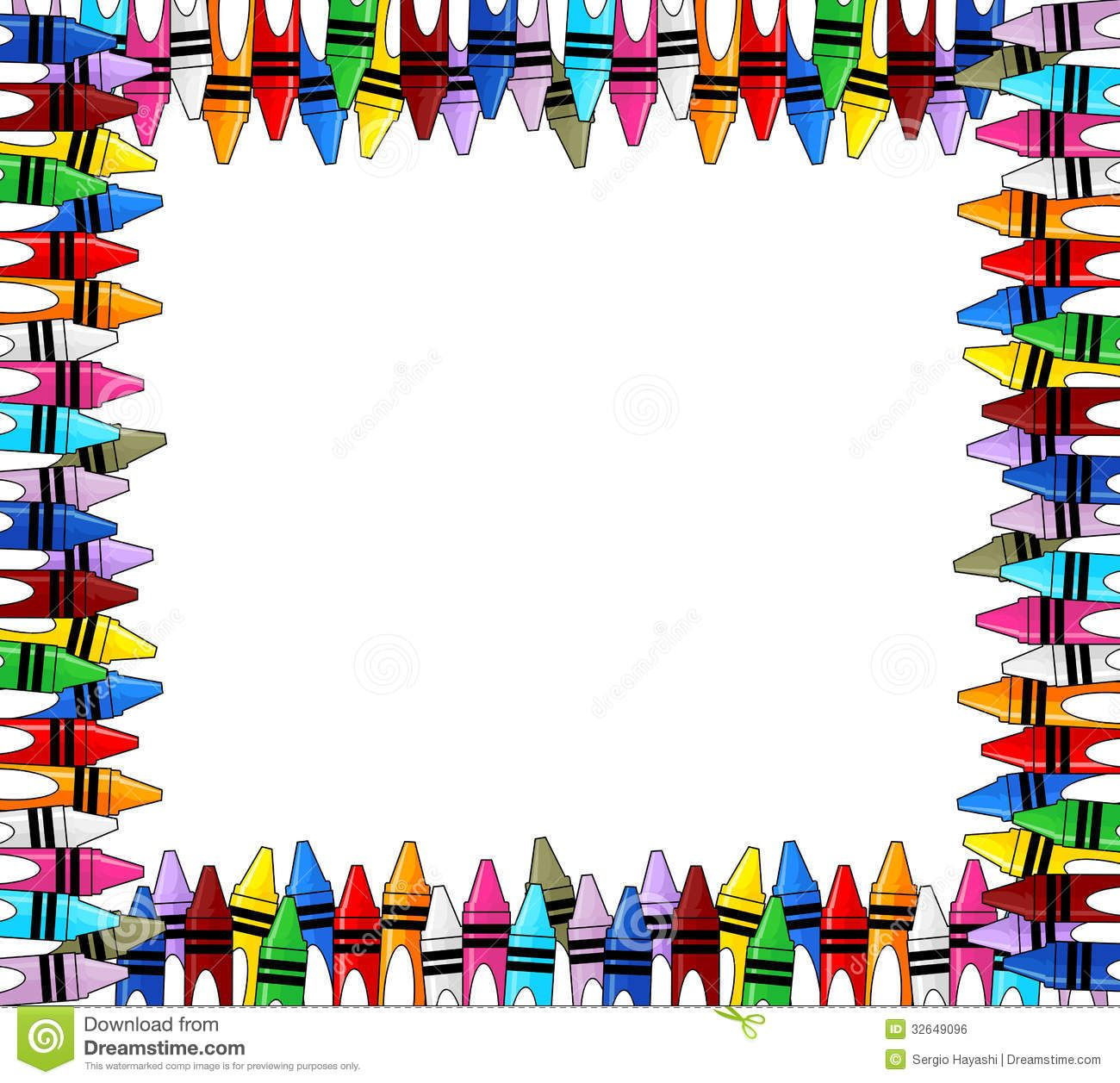 crayons google search kylie s scroll time border templates