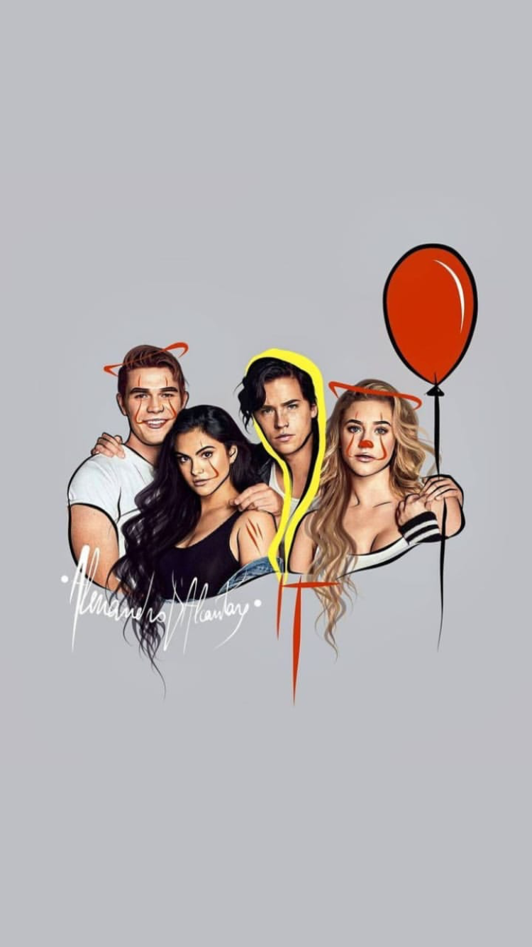 Pin By Sofia De Leon On Lockscreens Riverdale Poster Riverdale Archie Riverdale Characters