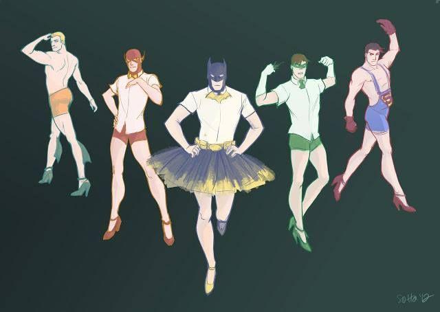 Corpo de baile.