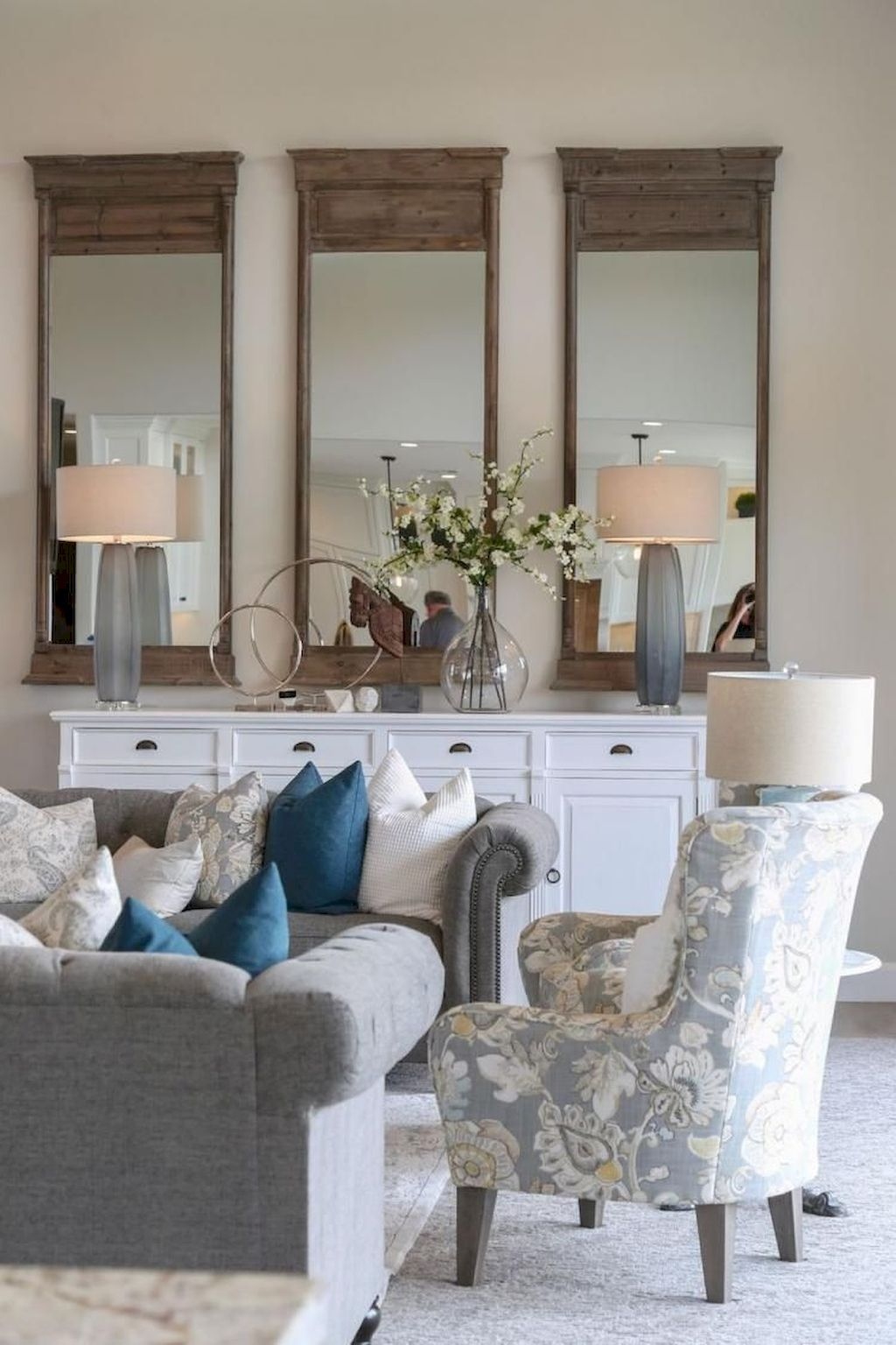 Awesome 60 Amazing French Country Living Room Decor Ideas So