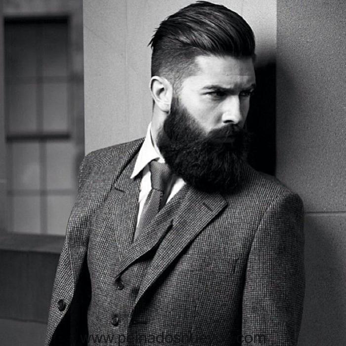 Peinados Magnificos Cortes De Pelo Para Hombre Con Barba 2018