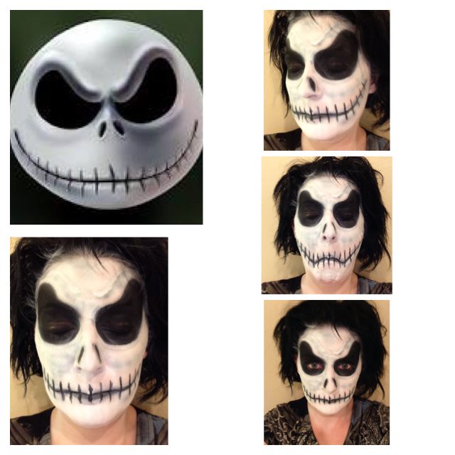 jack skellington makeup | Fantasy & Halloween Airbrush Makeup ...