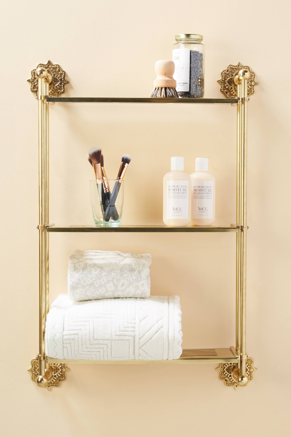 Beatrix Wall Mounted Shelving Unit Anthropologie Wall Mounted