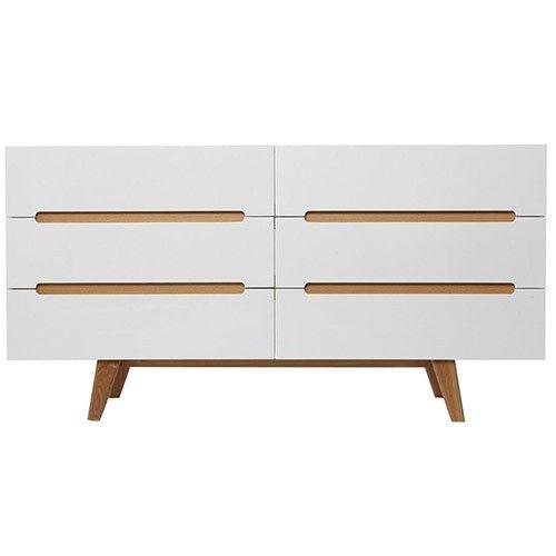 Finn Chest Of Drawers   6 Drawer   Scandinavian Furniture 31% OFF | $449.00    Milan Direct