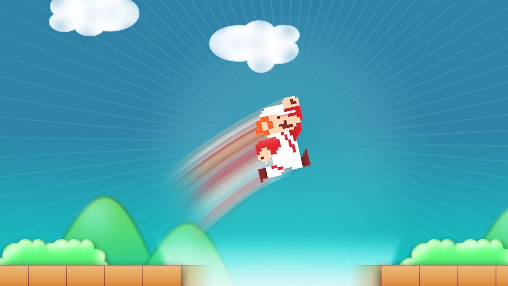 Mario bross 2d games jump widescreen hd wallpaper wallpaper mario bross 2d games jump widescreen hd wallpaper wallpaper voltagebd Images
