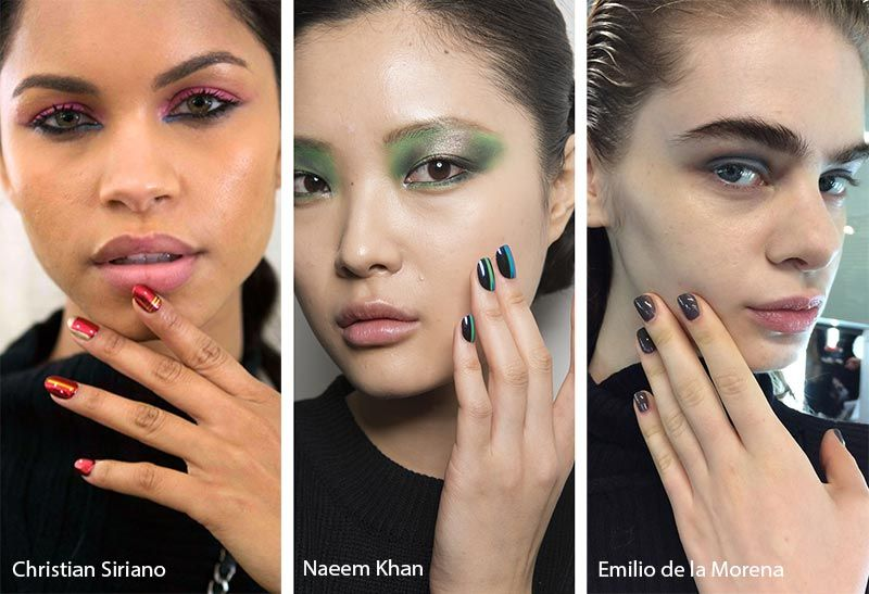 2020 Nail Color Trends.Fall Winter 2019 2020 Nail Trends Nail Color Trends Nail