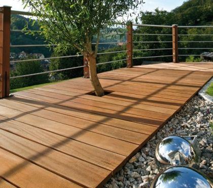 20 belles idées de lit suspendu sur la terrasse et dans le jardin