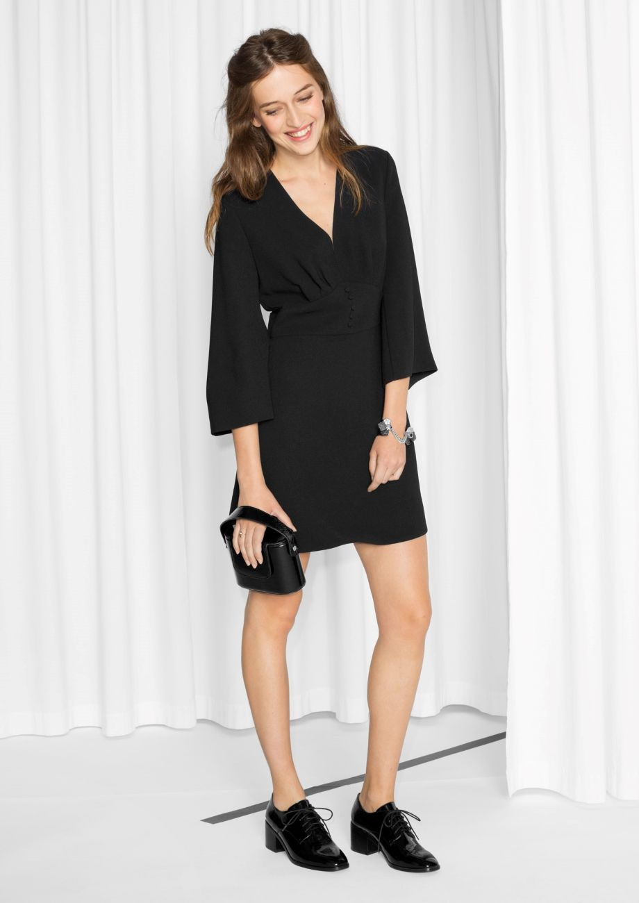 Other Stories Image 1 Of Structured Little Black Dress In Black Little Black Dress Little Black Dress Outfit Black Dress Outfits [ 1300 x 920 Pixel ]