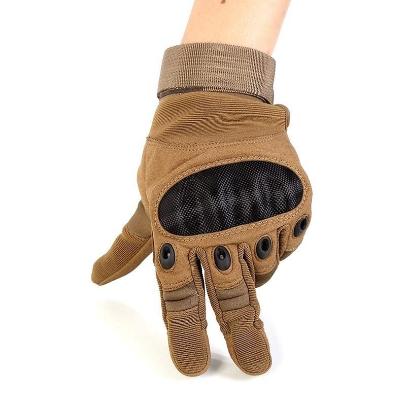 Touch Screen Tactical Gloves Military Army Paintball Shooting Airsoft  Combat Anti-Skid Rubber Hard Knuckle 97cf6c9c5ec