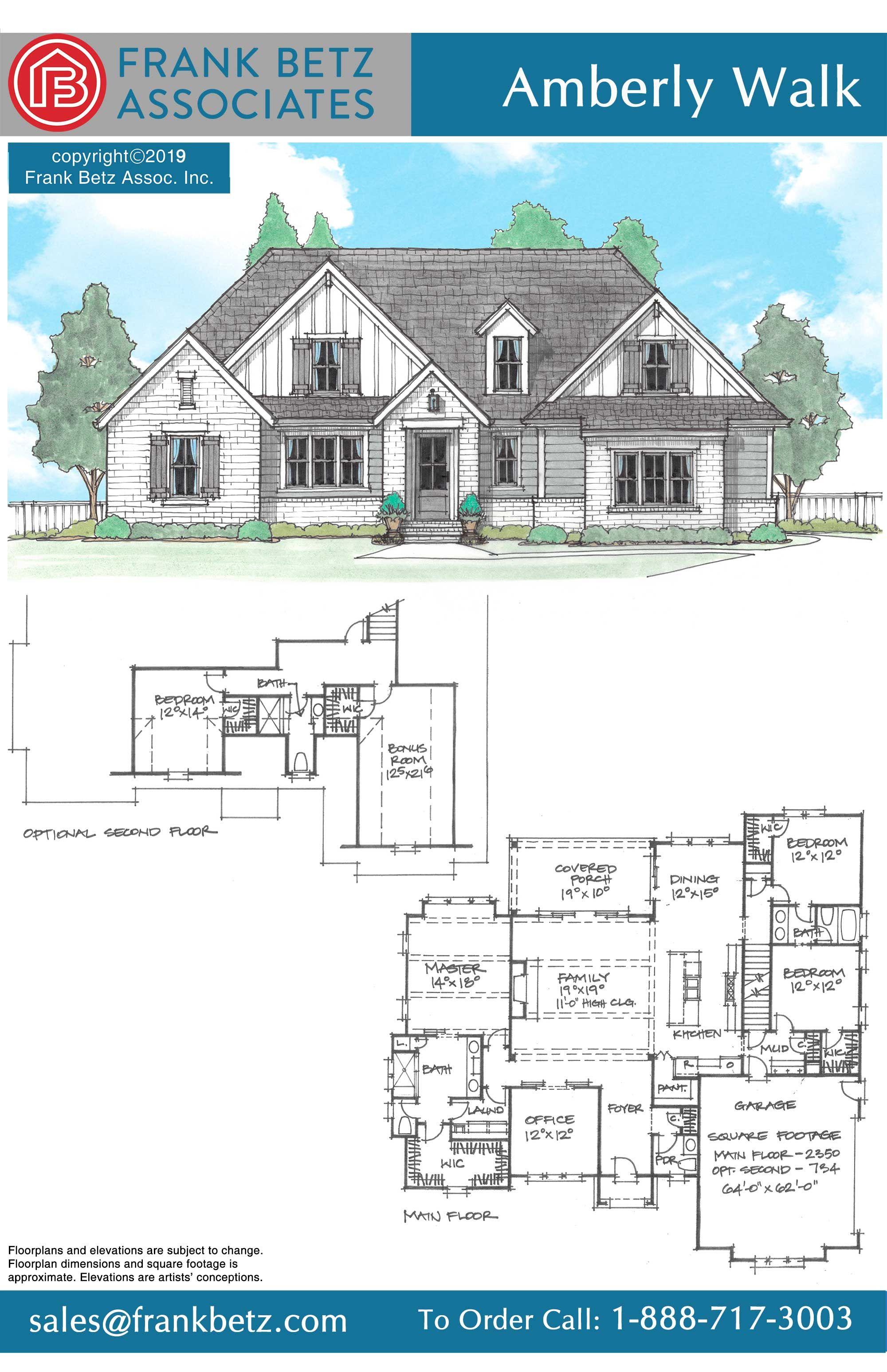 Amberly Walk House Plan House Plans Dream House Drawing Floor Plan Design