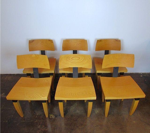 Chris Lehrecke dining chairs