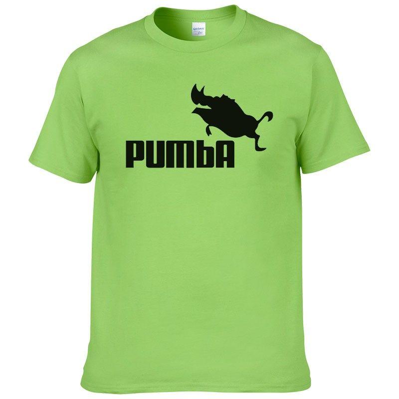 2016 funny tee cute t shirts homme Pumba men short sleeves cotton tops cool  tshirt summer jersey costume t-shirt 062 d345f9d926fc