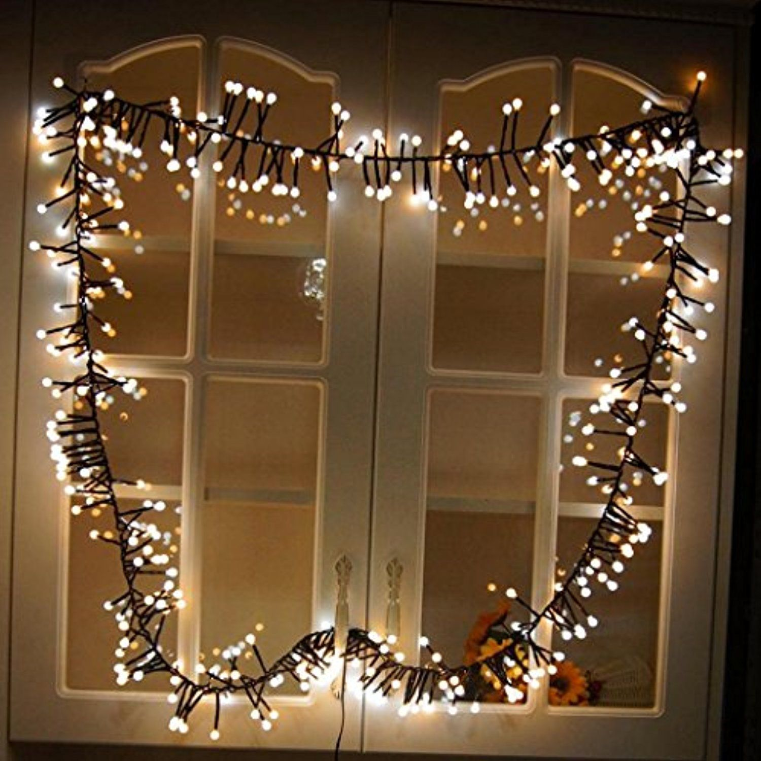 yuxing 400 led fairy starry string lights christmas lights for window curtain outdoor indoor patio party