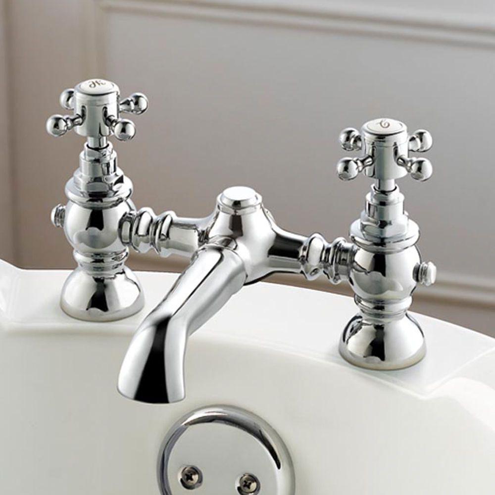 Victoria chrome bathroom bath tub filler mixer tap tb34   Bathroom ...