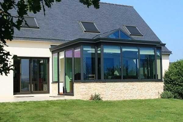 toit plat extension maison vannes redon Serres Pinterest