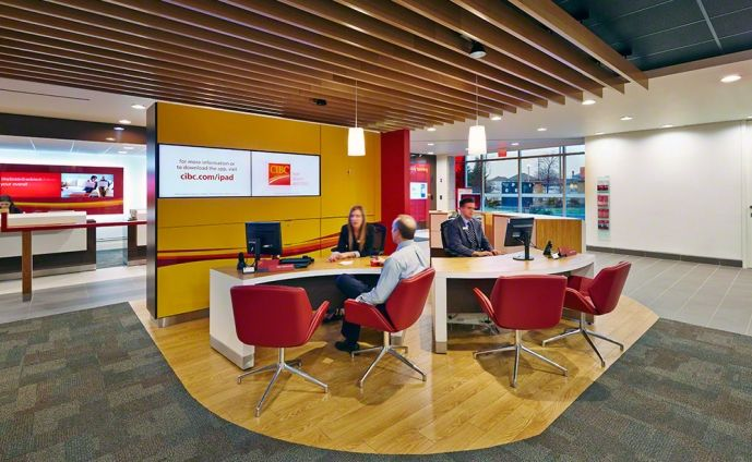 retail bank design cibc canada   Architecture   Pinterest   Banks     retail bank design cibc canada