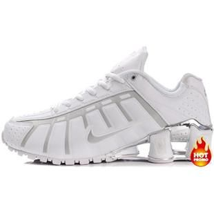 Mens Nike Shox NZ 3 OLeven White Grey Silver, cheap Mens Nike Shox OLeven,  If you want to look Mens Nike Shox NZ 3 OLeven White Grey Silver, ...