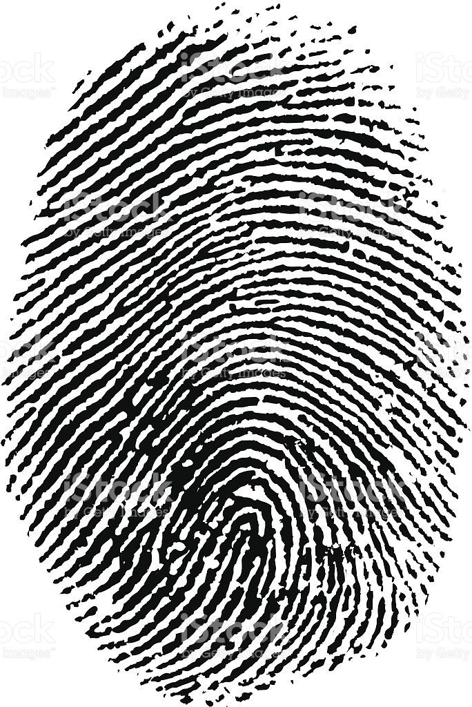 Vector Thumb Print Prints
