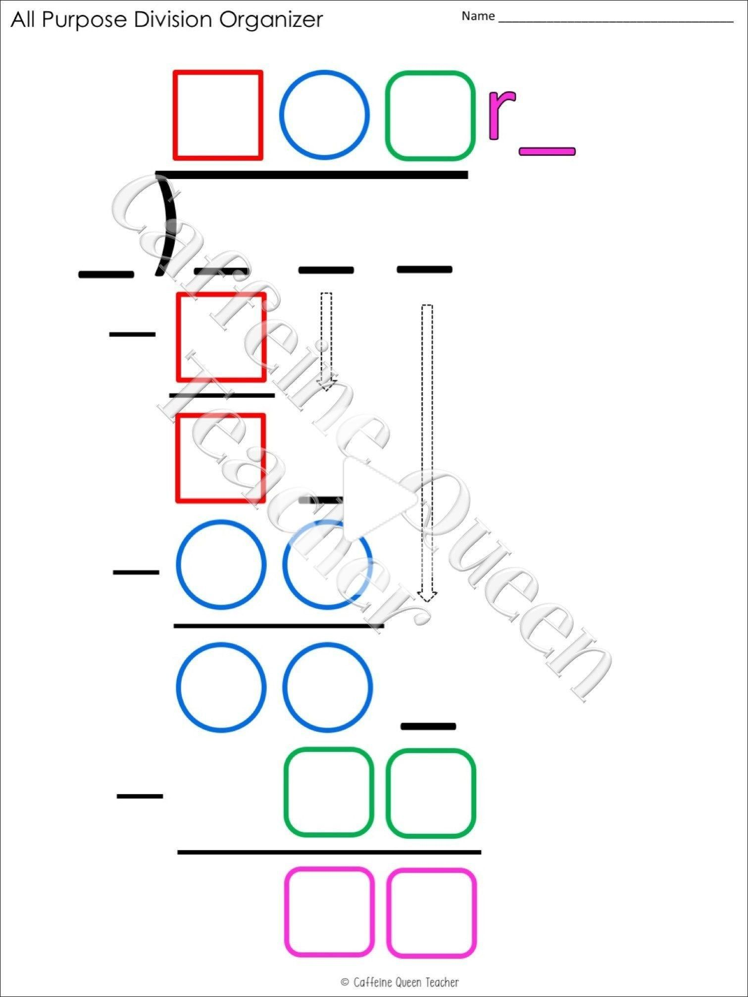 2 Digit Multiplication And Long Division Bundle In