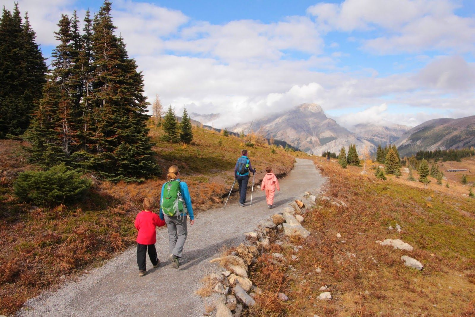 Autumn Hiking at Sunshine Meadows One of Canada's Top