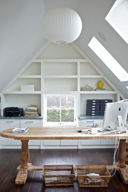 Untitled Home Office Space Home Attic Rooms