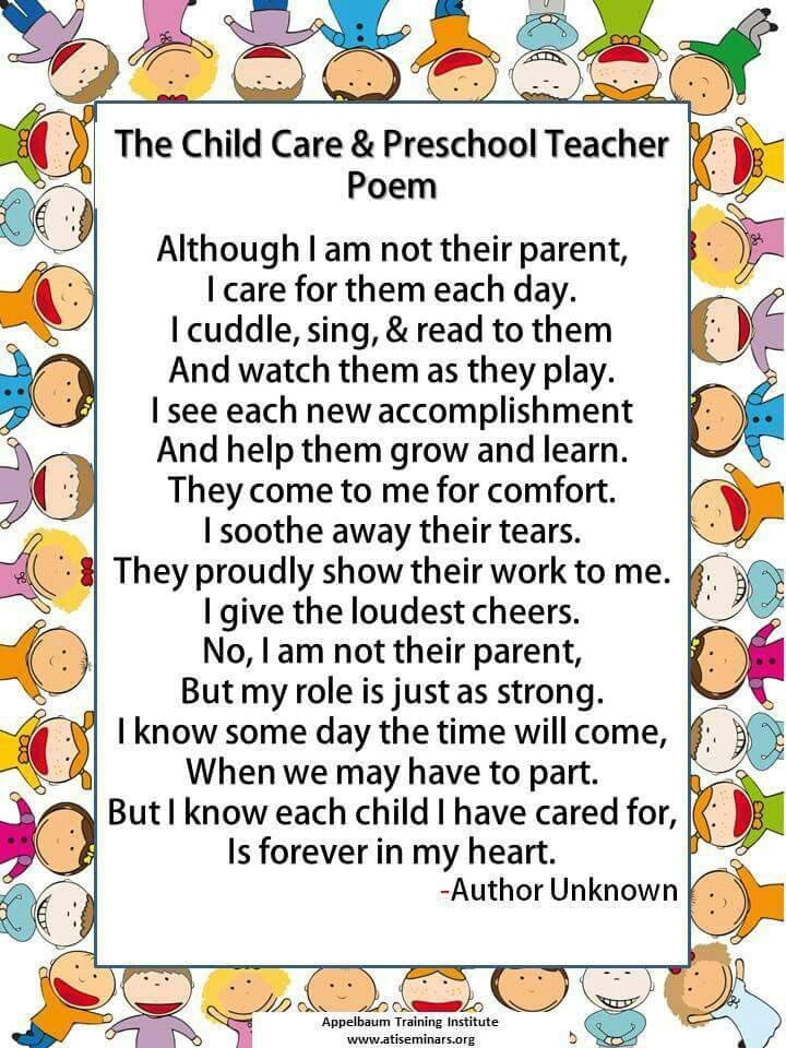 teacher poem preschool poems preschool teacher