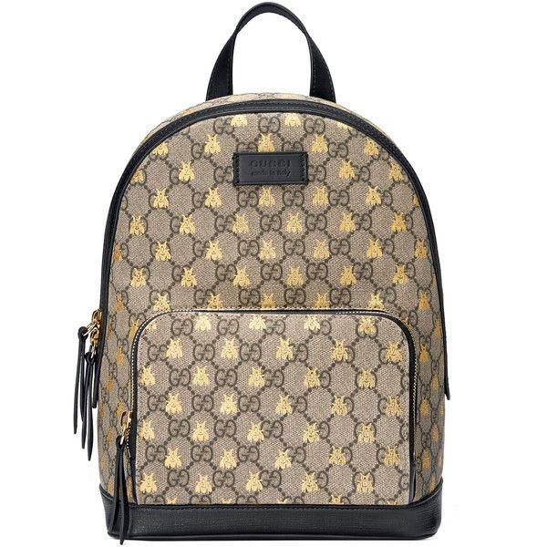 404c75aa6c6b7 Gucci Gg Supreme Bees Backpack ( 1