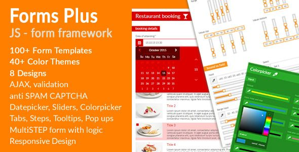 Download Free Forms Plus JS - Forms Framework # bootstrap - free form templates download