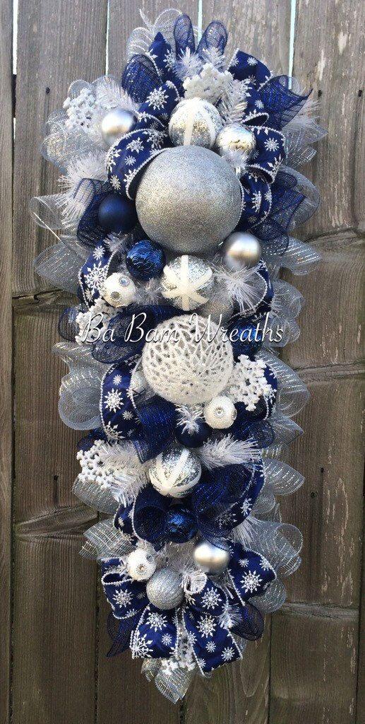 Blue White Christmas Stunning Blue Christmas Christmas