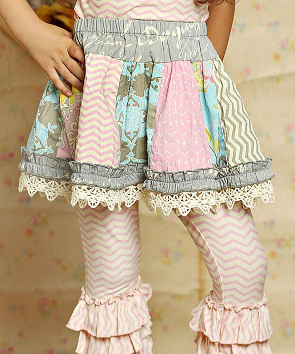 Another great find on #zulily! Mustard Pie Sunny Sweet Pink Addie Skirt - Infant, Toddler & Girls by Mustard Pie #zulilyfinds