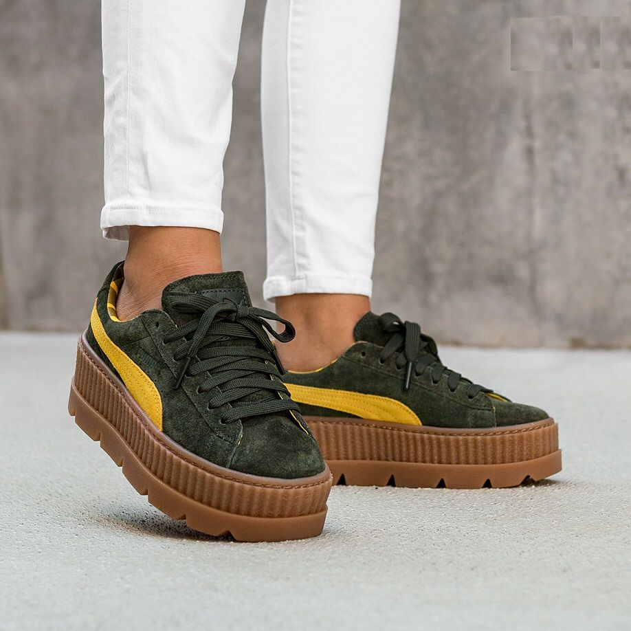 5c21bb30b94 Rihanna x PUMA Fenty Cleated Creeper