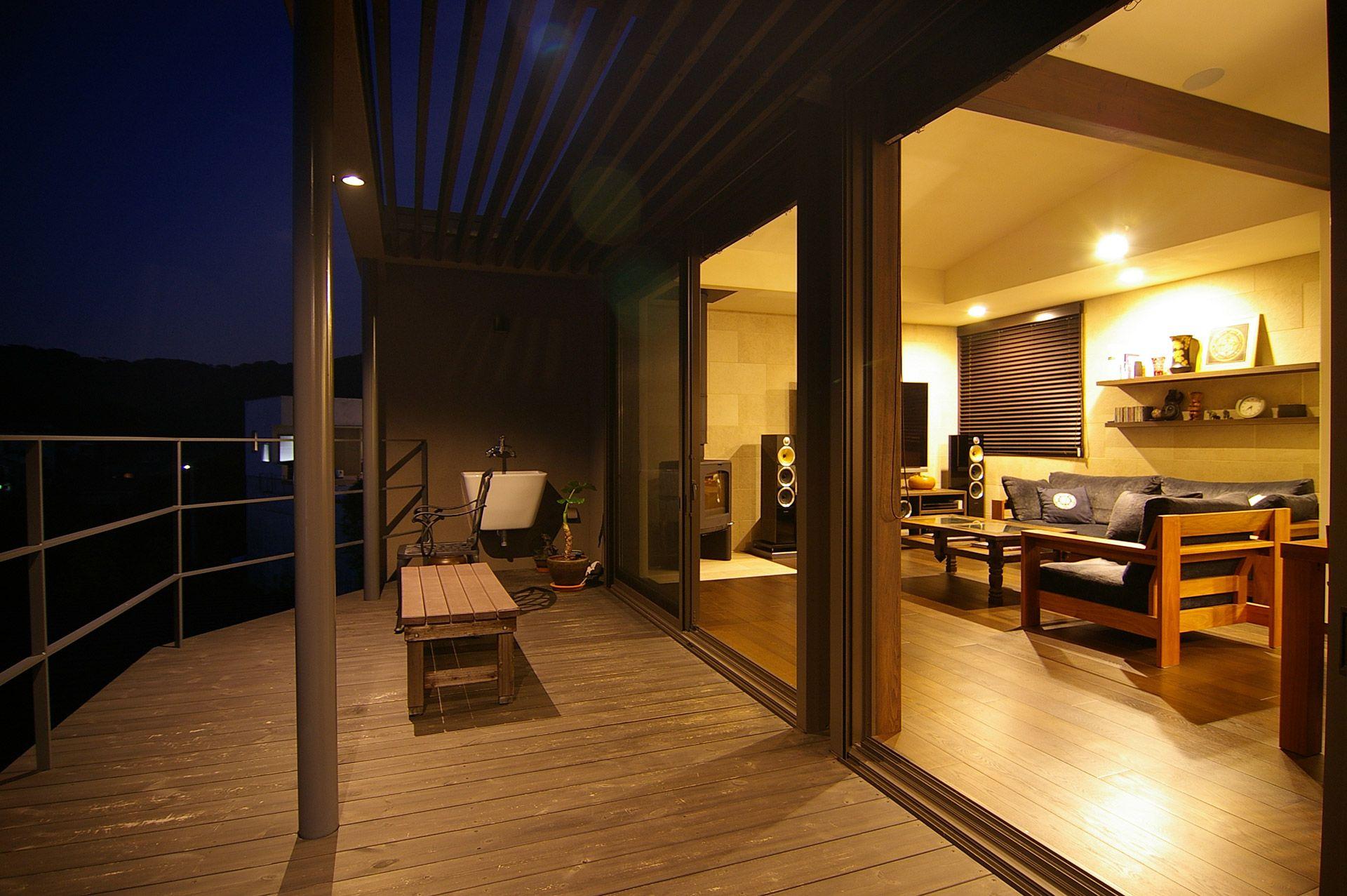 海と富士山を眺める家 横須賀 神奈川県鎌倉市の一級建築士事務所 S