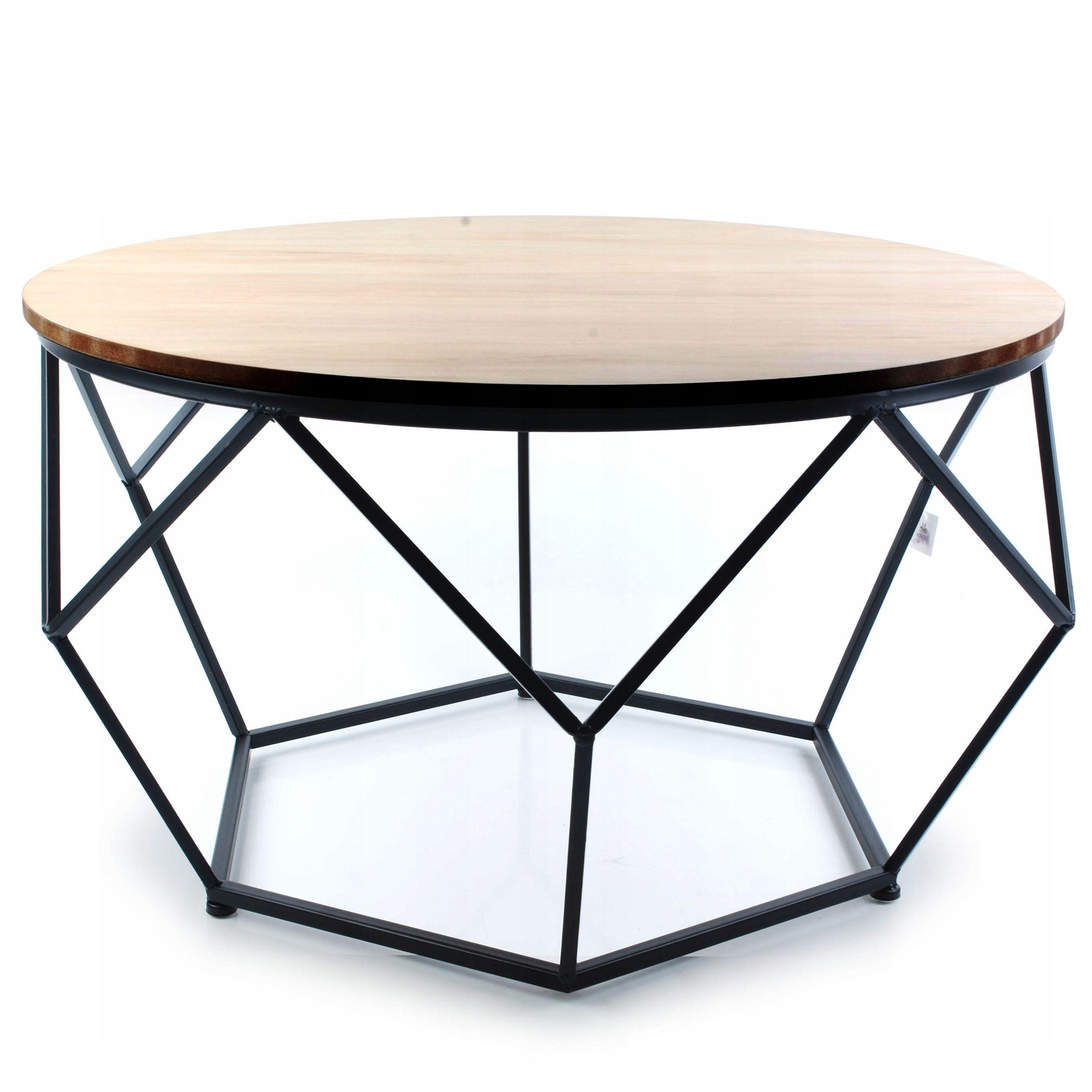 Geometryczny Stol Stolik Kawowy Nowoczesny Duzy 7789776191 Oficjalne Archiwum Allegro Side Table Table Furniture