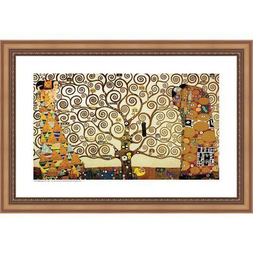 amazon: easy apply wall sticker painting - tree of life, gustav