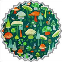 o.mushroom - by Alexander Henry
