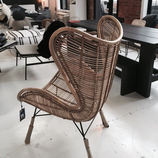 Rattan Egg Chair In New Natural #hkliving   Just In !