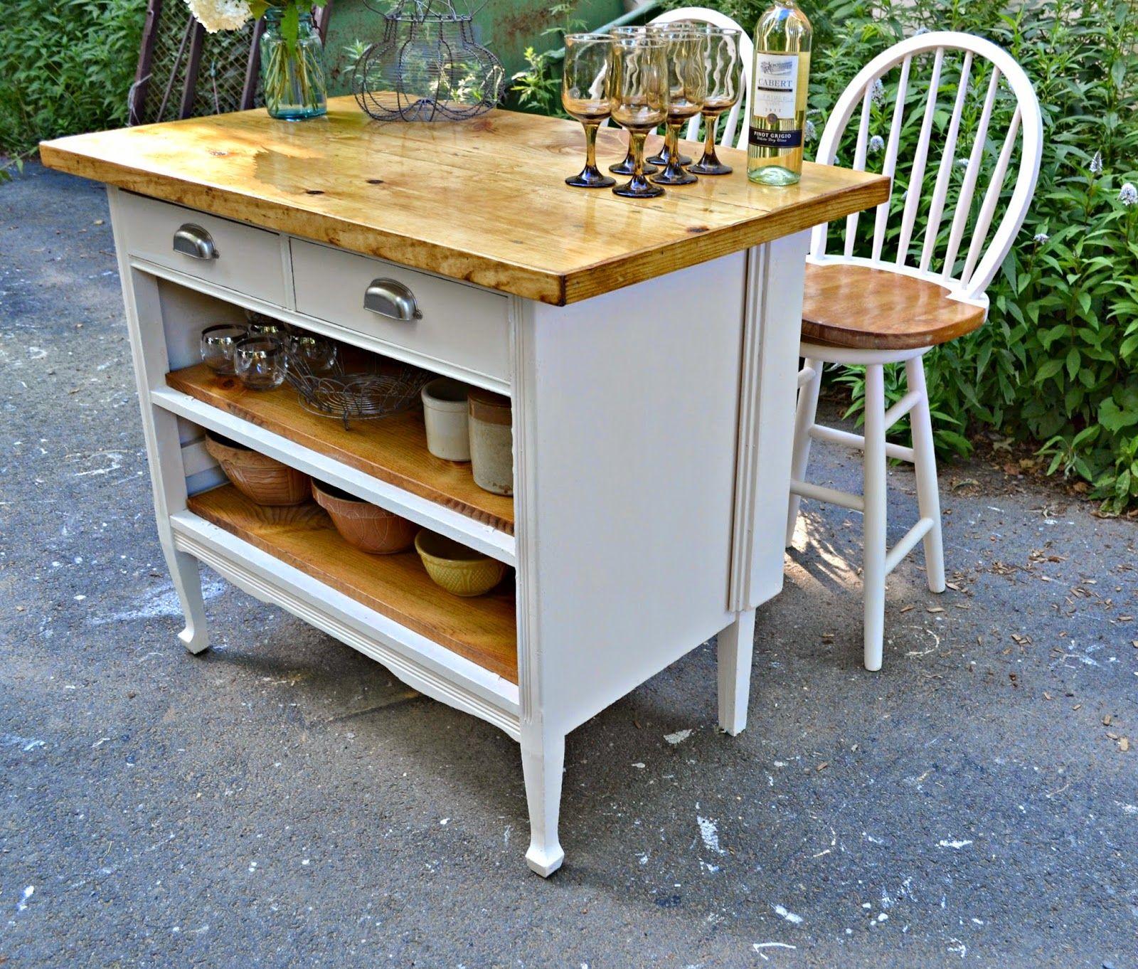 18 Best Dresser Into Kitchen Island Ideas Refinishing Furniture Redo Furniture Repurposed Furniture