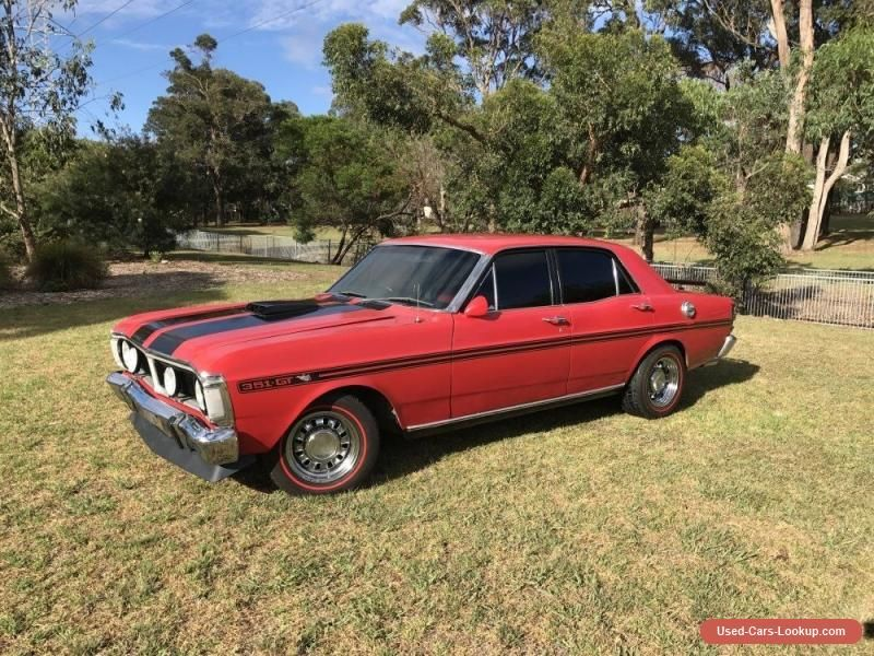 Ford Falcon Xy Gt Replica V8 Toploader Red Xw Xa Xb Ford