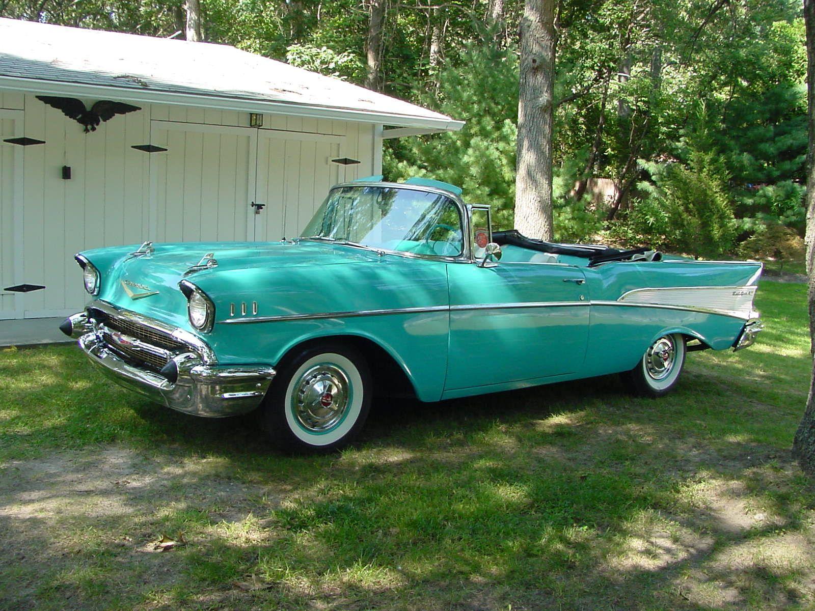 1957 Chevy Bel Air Chevrolet 2 Door Convertible Hardtop