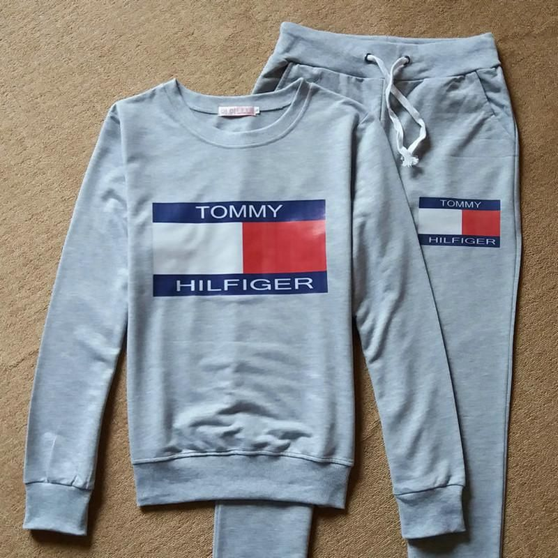 3b10d75ba Full tracksuit womens jogger track pants and Sweatshirt jogging suits top  and bottom Tommy Hilfiger