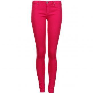 Dr Denim Women'S Kissy Cerise Pink Skinny Jeans