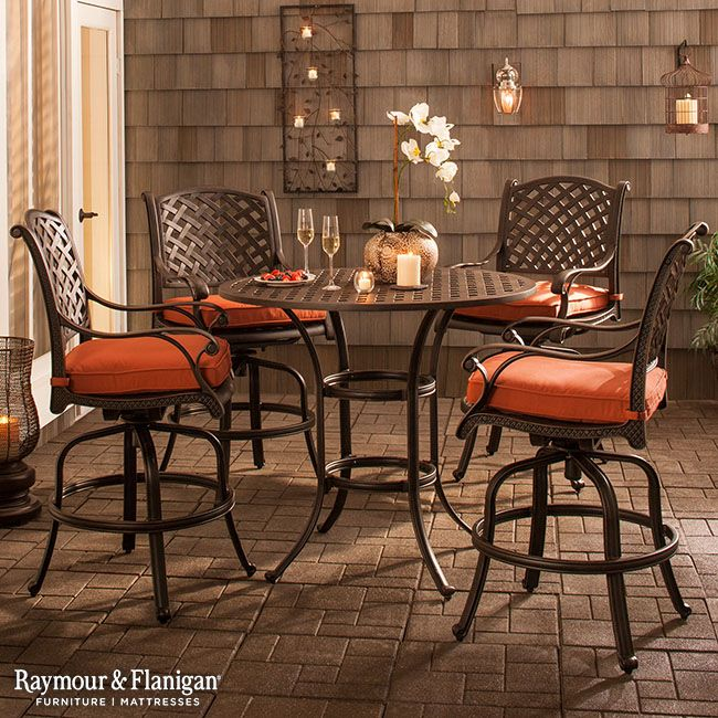 Moreaux 5 Pc Outdoor Counter Height Dining Set Counter Height Dining Sets Outdoor Furniture Sets Patio Furniture Sets