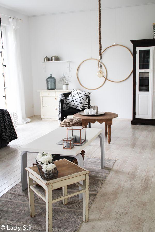 Wohnzimmer Gestaltung Mit Hula Hoop Reifen