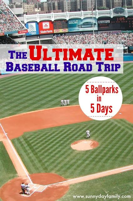 The Ultimate Baseball Road Trip 5 Stadiums In 5 Days Road Trip Travel Baseball Trip