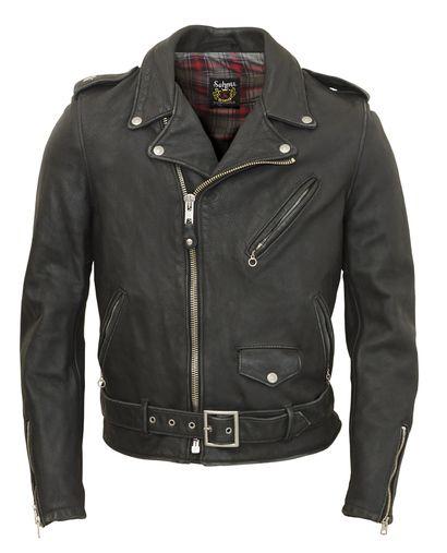 Schott N Y C 626vn Vintaged Fitted Cowhide Leather Motorcycle Jacket Kozhanaya Kurtka Kurtka