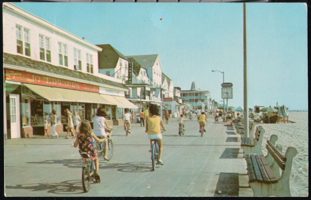 Edwards  C2 A2 Store On The Boardwalk In Ocean City Maryland Circa Early 1970s